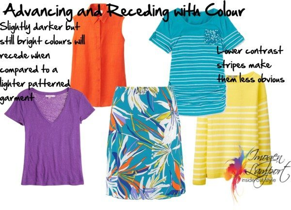 Advancing and Receding with Colour