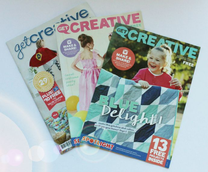 Spotlight Get Creative magazine