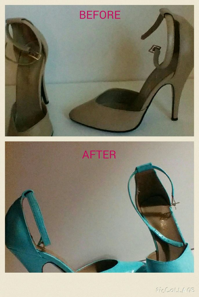 How to change the colour of your shoes