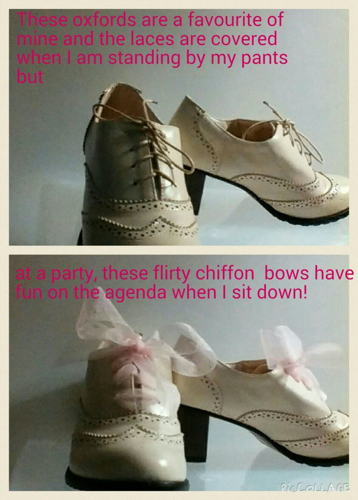 Restyle your shoes with new laces