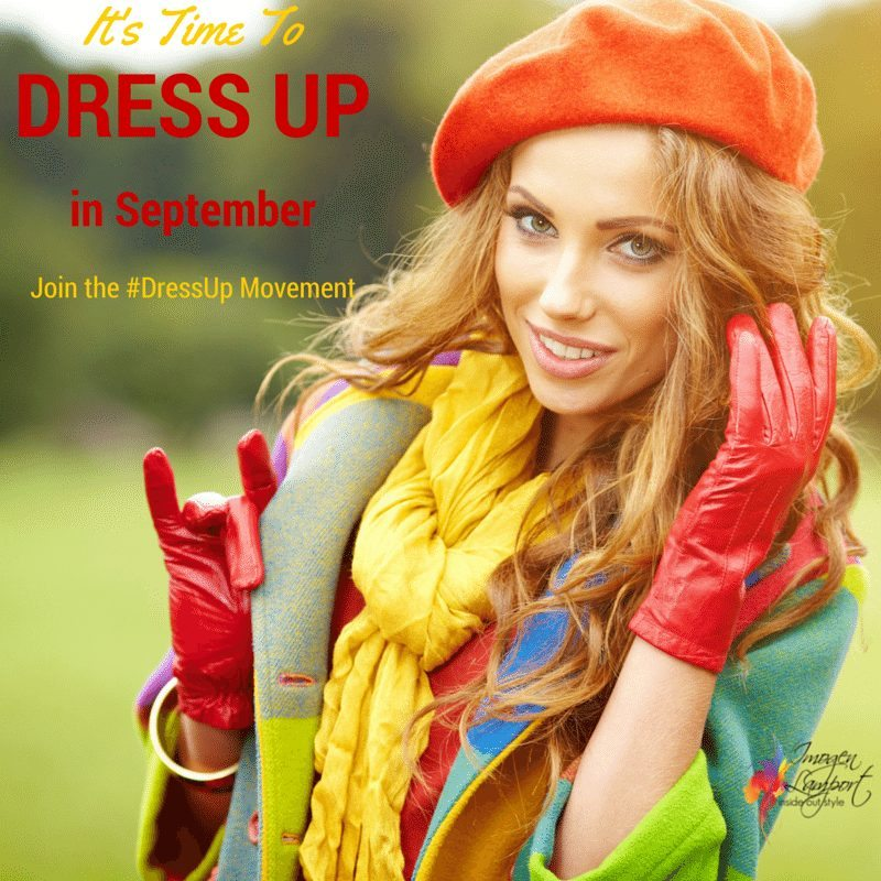 Do you hate how badly dressed so many people are these days? Do you wish that everyone took a little more care? Well join the #DressUp movement and start influencing others by setting a stylish example.