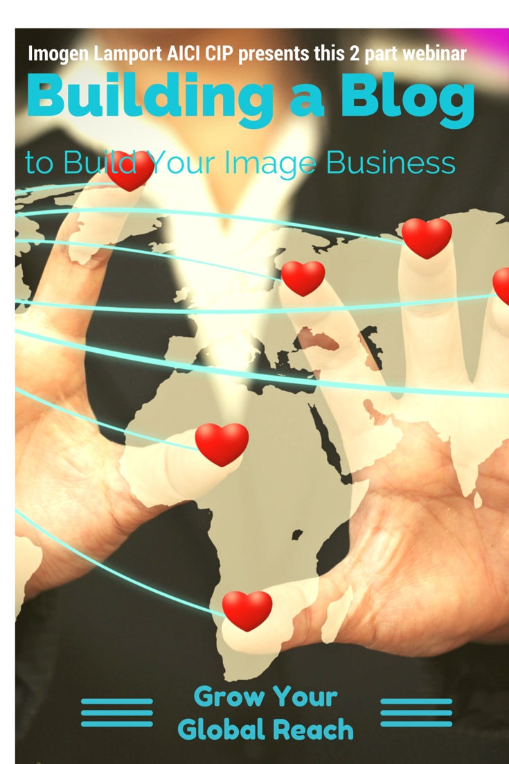 Building a Blog to build your image business