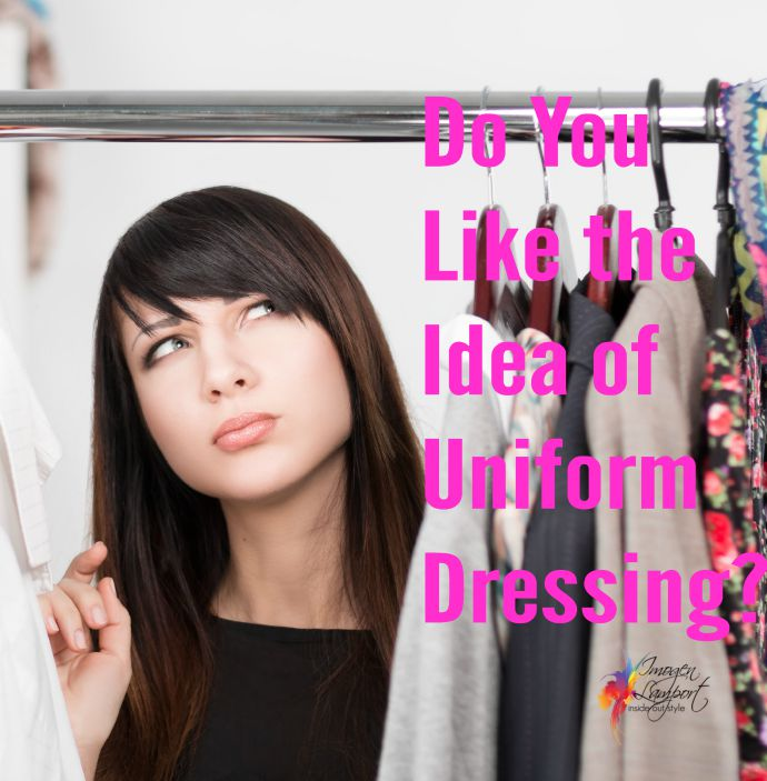 Do you like the idea of uniform dressing - or dressing to a formula?