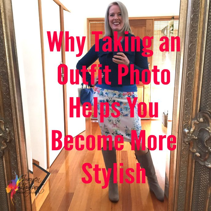 Why taking an outfit photos helps you become more stylish - real world fashion advice for all women - Inside Out Style