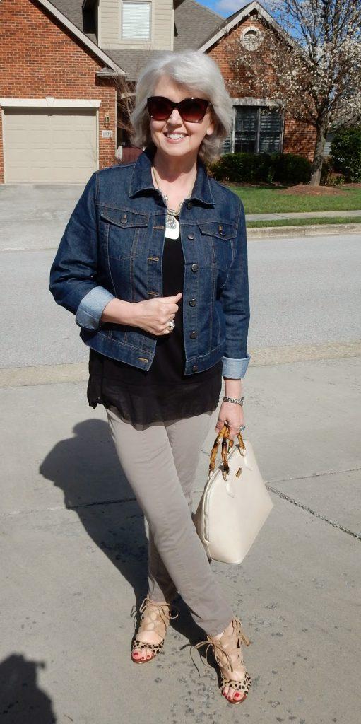 jeans jacket fifty not frumpy