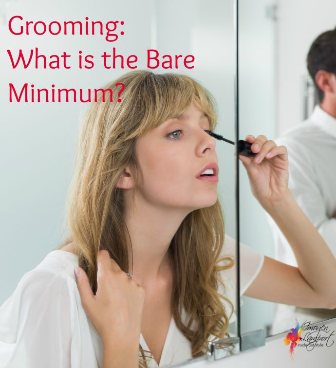 What is the bare minimum for grooming?  Inside Out Style blog