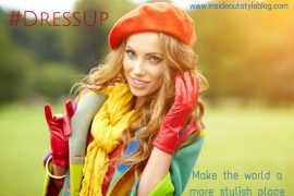 #DressUp in September - The style challenge to change the world find out more www.insideoutstyleblog.com