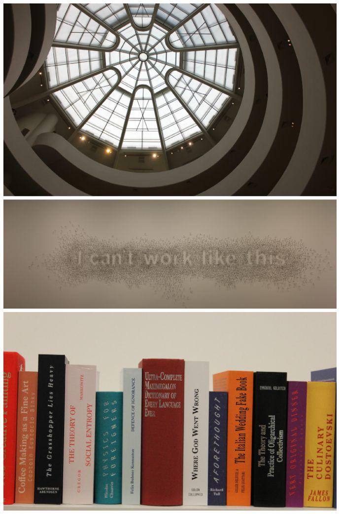 Guggenheim exhibits