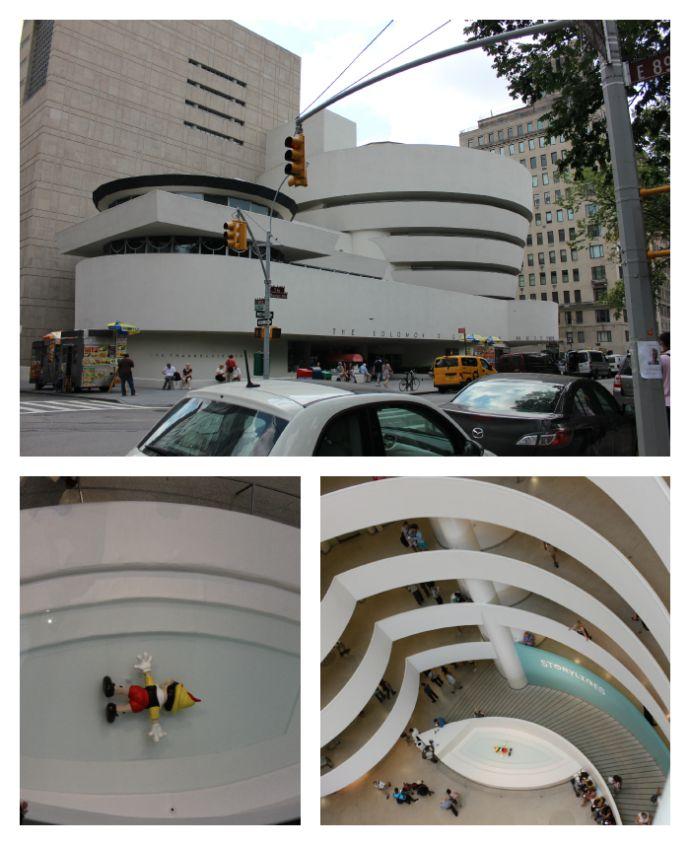 The Guggenheim Museum and Gallery New York