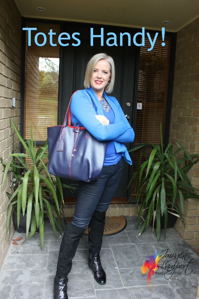 Get a great tote bag - Inside Out Style recommends