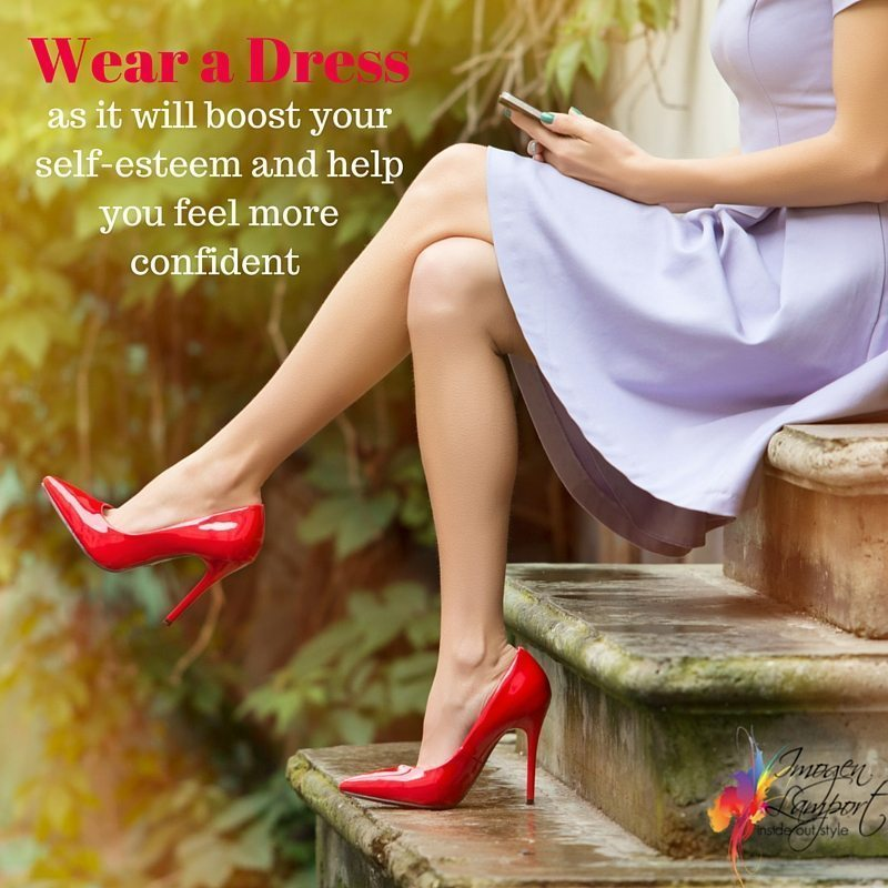 Wear a dress to increase your confidence - Inside Out Style Blog