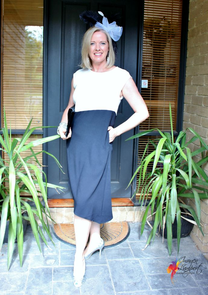Antic Dress from Feathers - Perfect for Derby Day