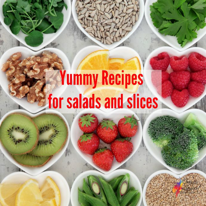 Yummy recipes for salads