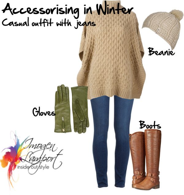 Accessorising in winter casual style