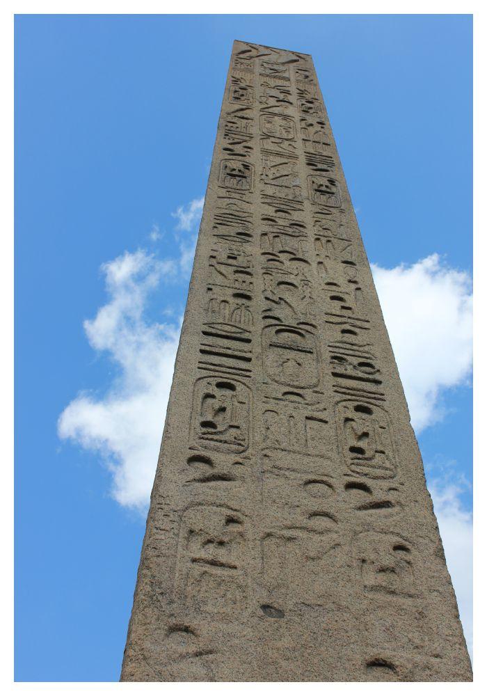 Cleopatra's Needle in Central Park NY
