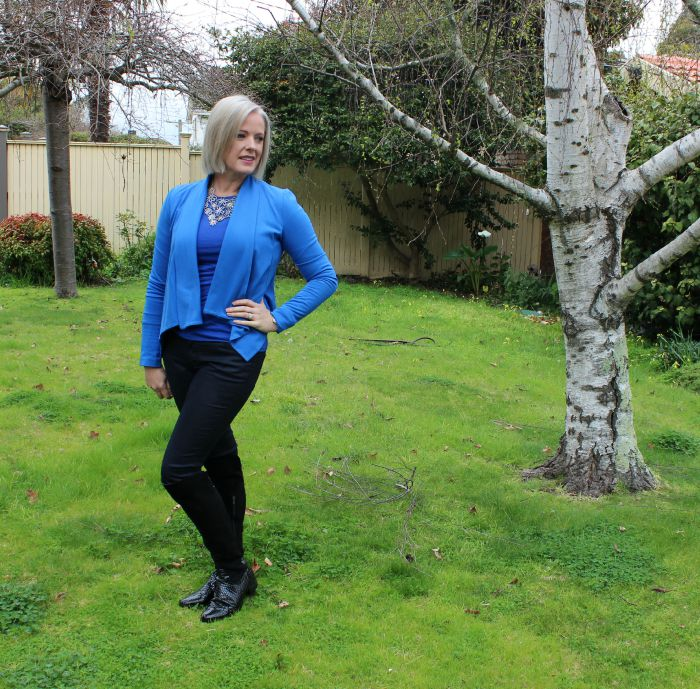 Imogen Lamport over 40 style blogger