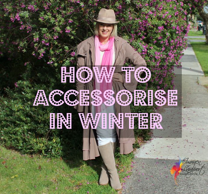 how to accessorize in winter - hats, scarves and gloves