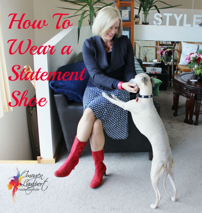 how to wear a statement shoe - inside out style blog