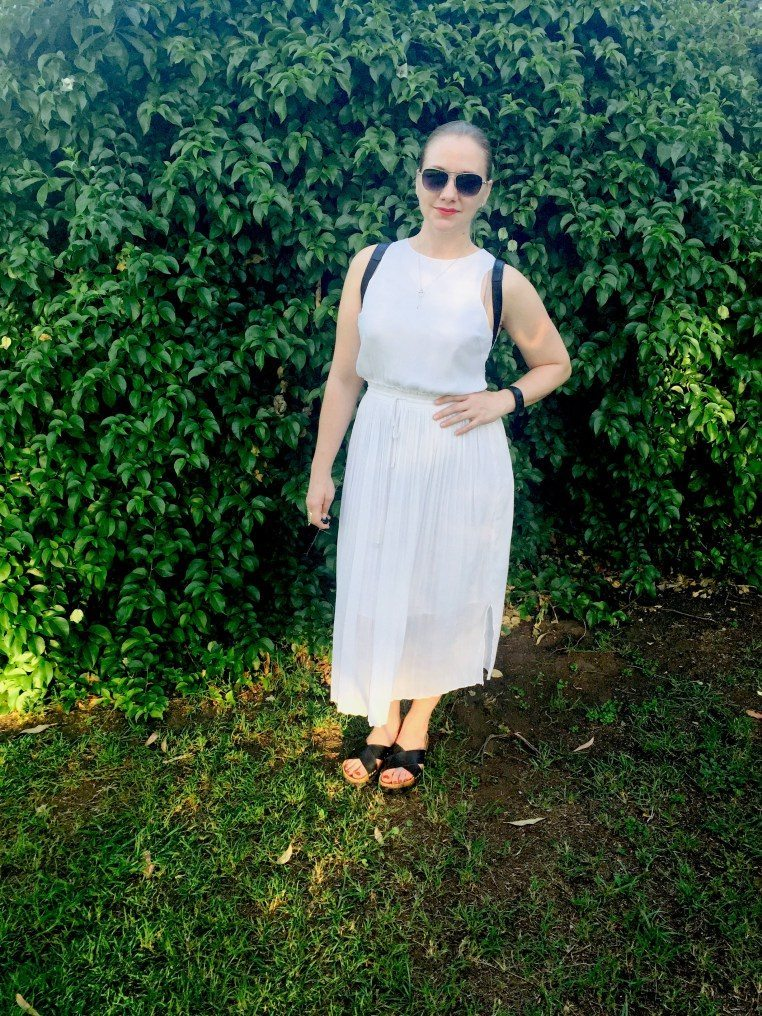 Belinda from parties pearls and being precious on Inside Out Style blog