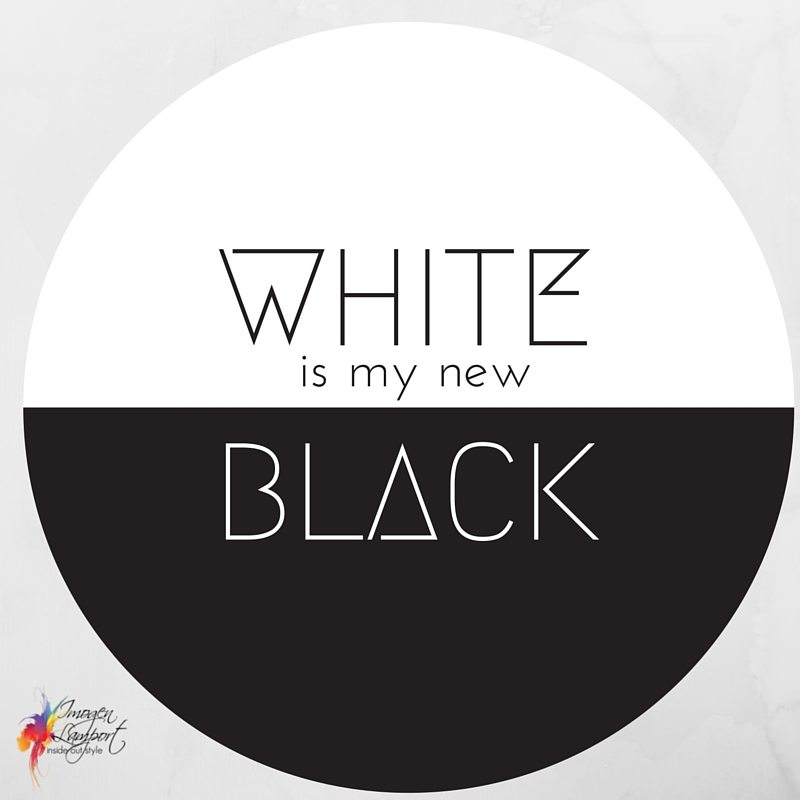 White is my new black - Inside Out Style Blog