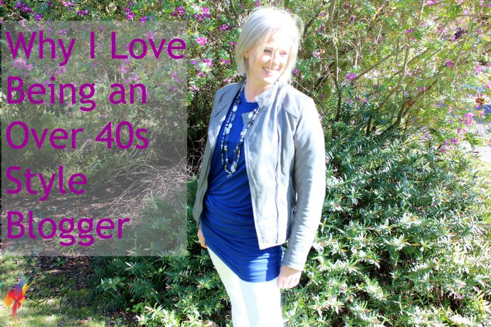 why i love being an over 40s style blogger