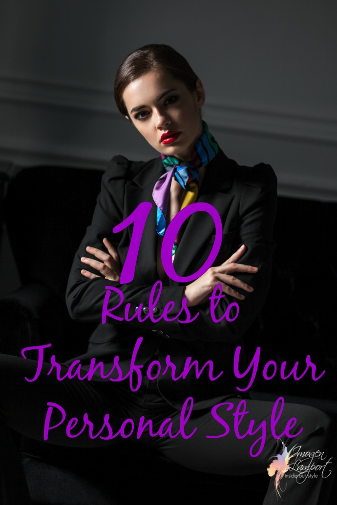 10 rules to transform your personal style