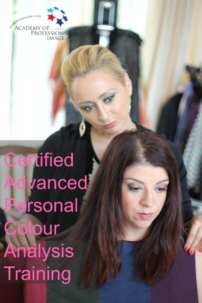 Certified personal colour analysis training - learn how to be a certified personal colour analyst and image consultant
