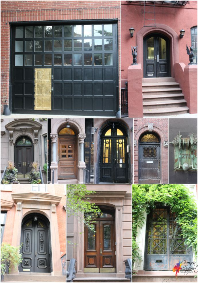 Greenwich Village Doors