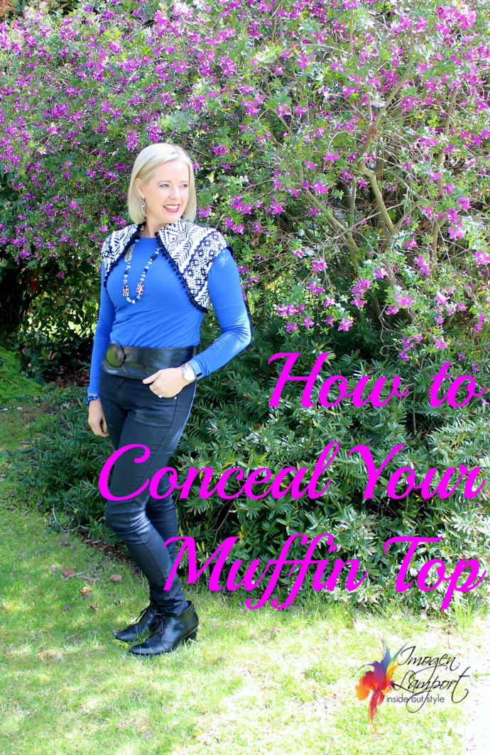 How to conceal your muffin top on Inside Out Style blog