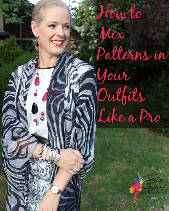 How to mix patterns in your outfits like a  pro