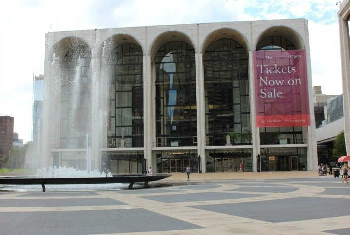 Lincoln Centre Upper West Side New York