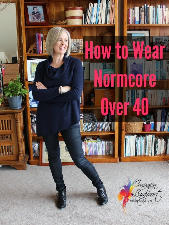 how to wear normcore over 40