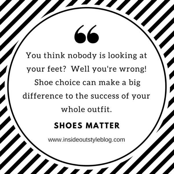 10 Rules to Transform Your Personal style - why shoes matter