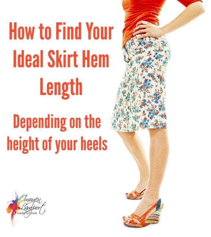 How to find the ideal skirt length dep