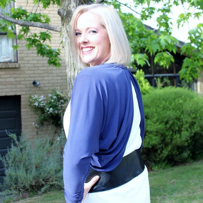 Back of a shrug - how to style shrugs