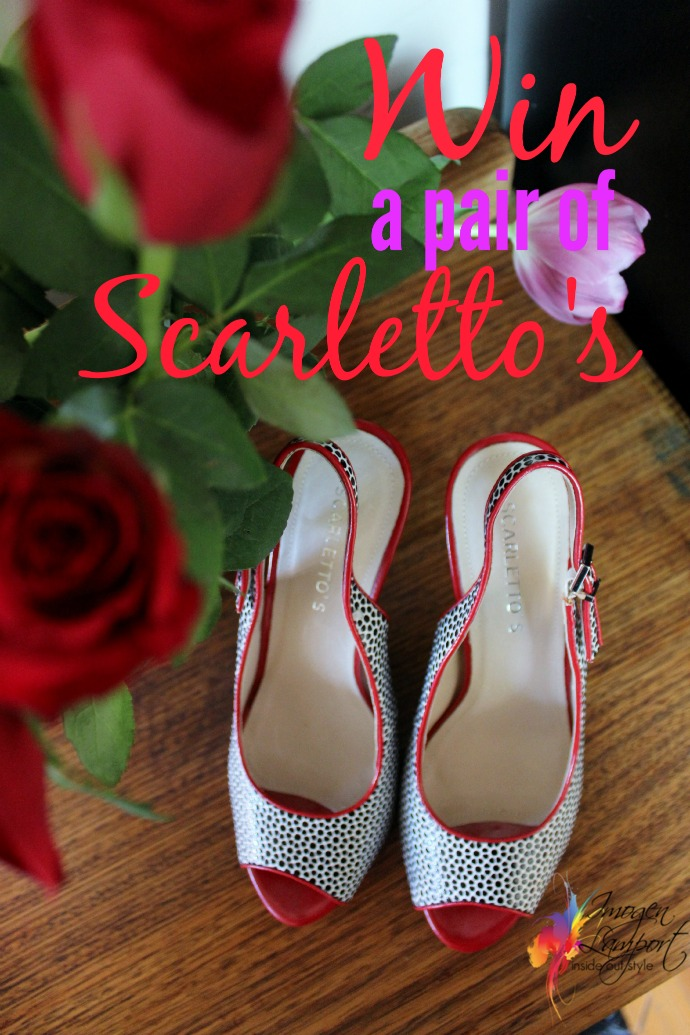 win a pair of scarlettos shoes
