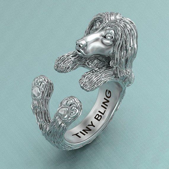 Afghan Hound ring