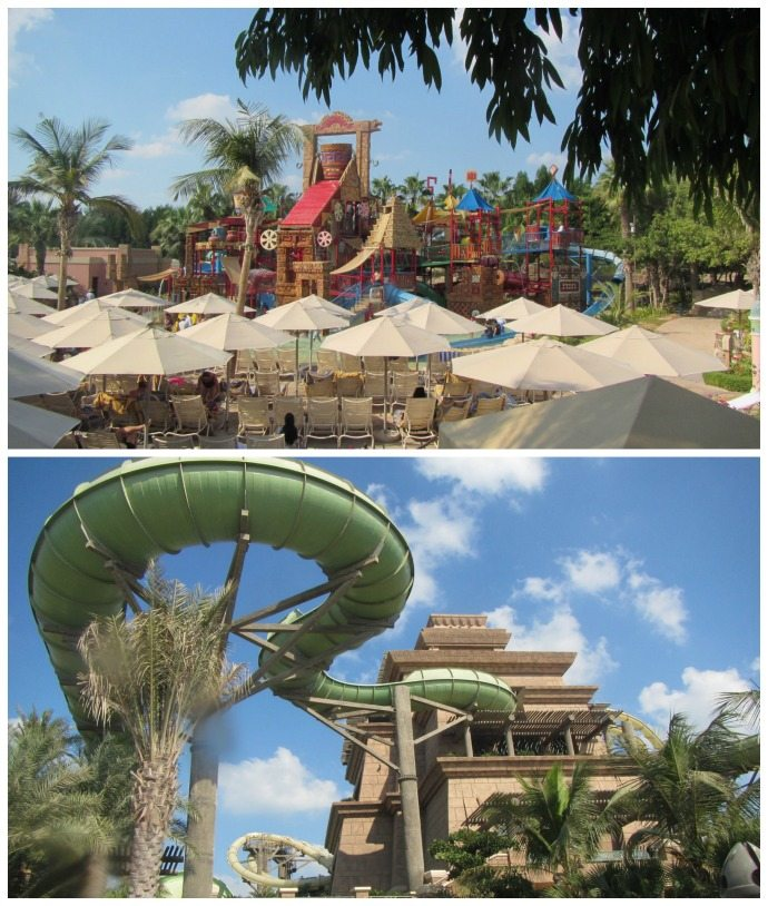 Entertainment for kids of all ages at Aquaventure Water Park in Dubai