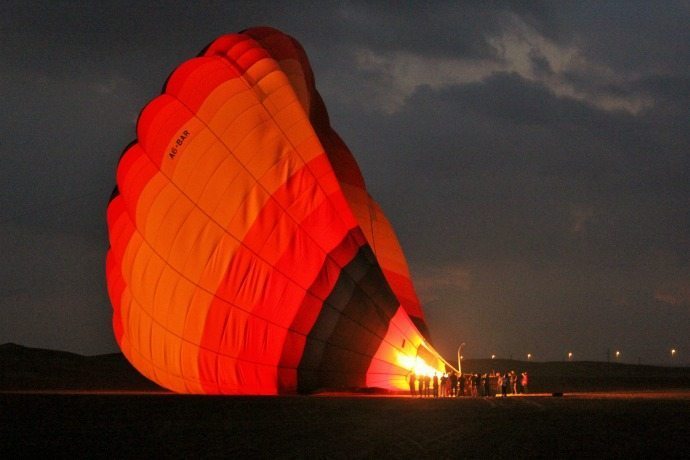 Hot Air ballooning UAE