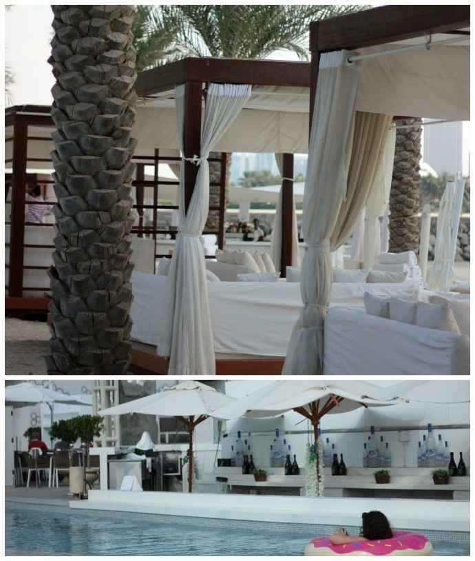 Eden Beach Club Dubai Cabanas