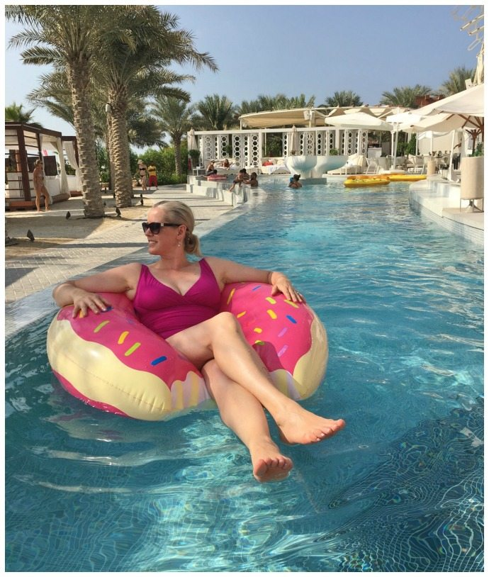 Eden beach club pool Dubai
