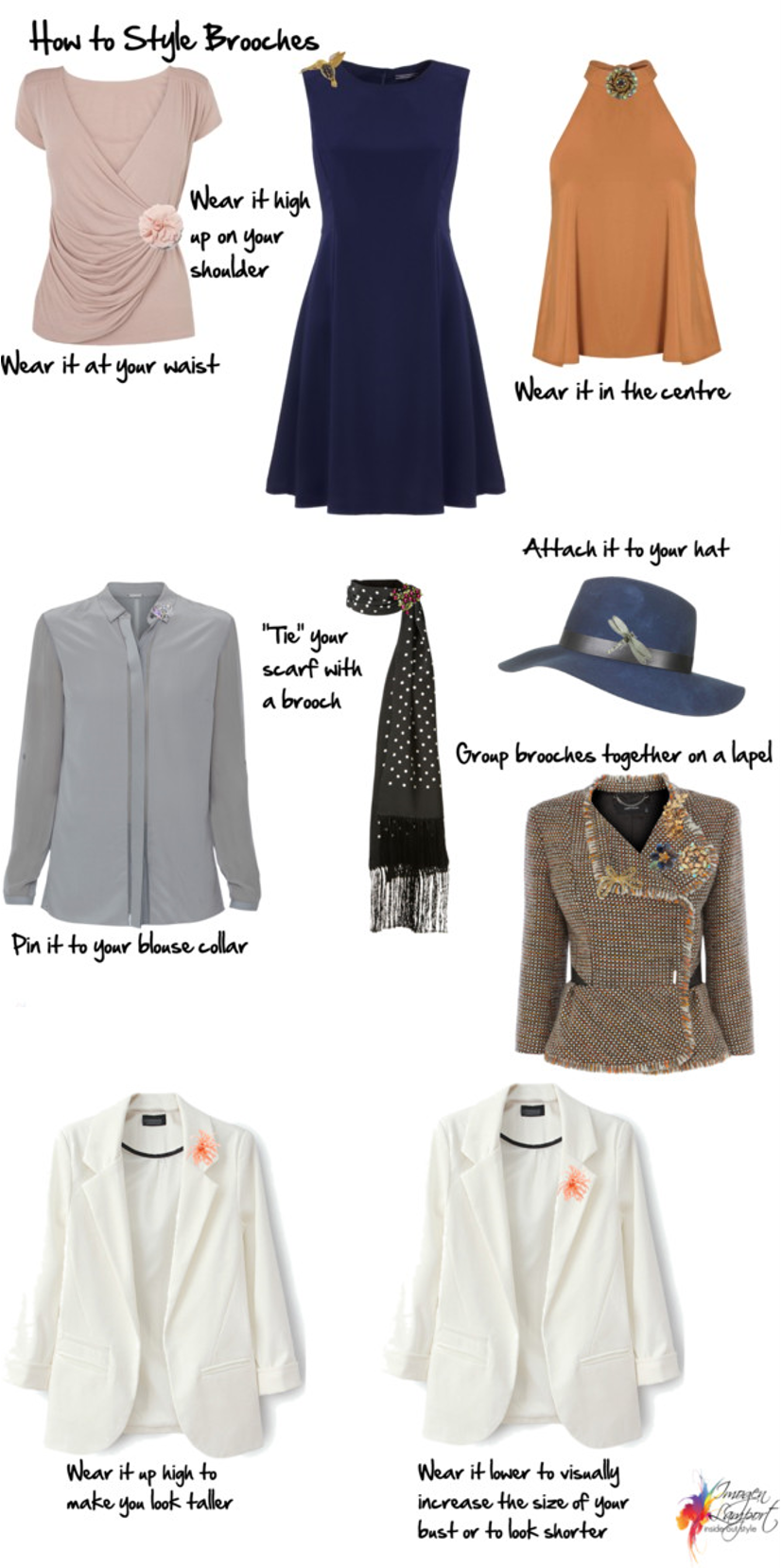How to Wear Brooches