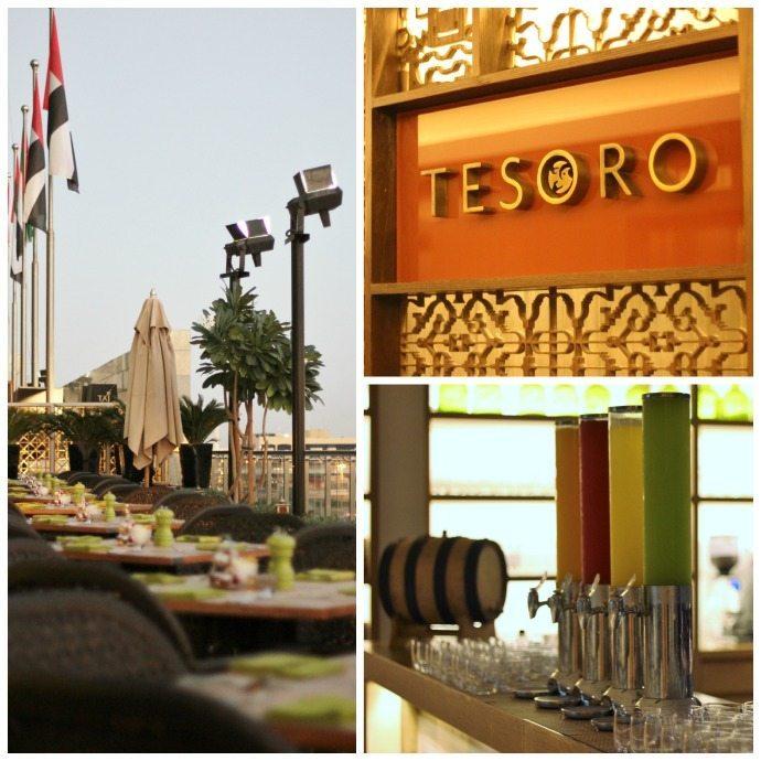 Tesoro restaurant at Taj Dubai hotel