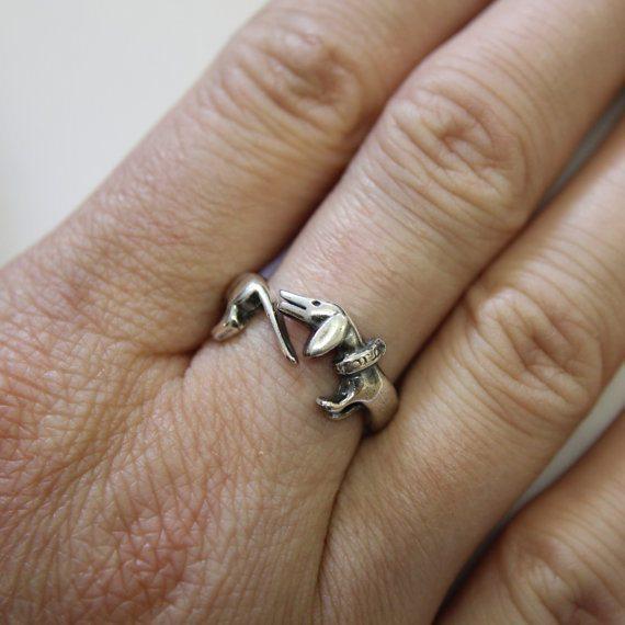 Daschund Ring