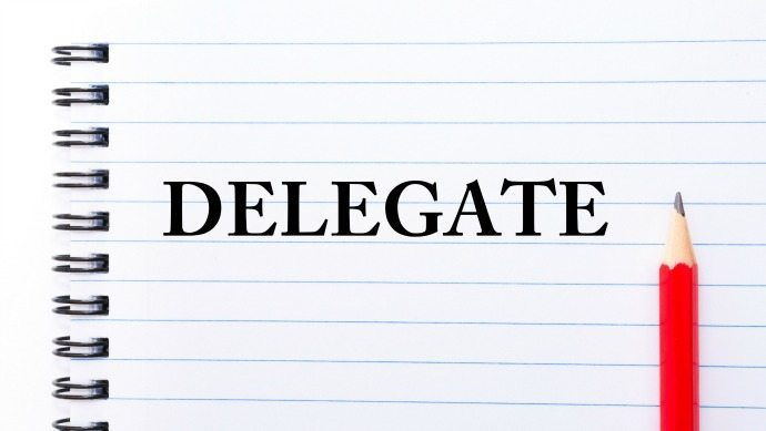 Delegate - my new years resolution word of the year for 2016