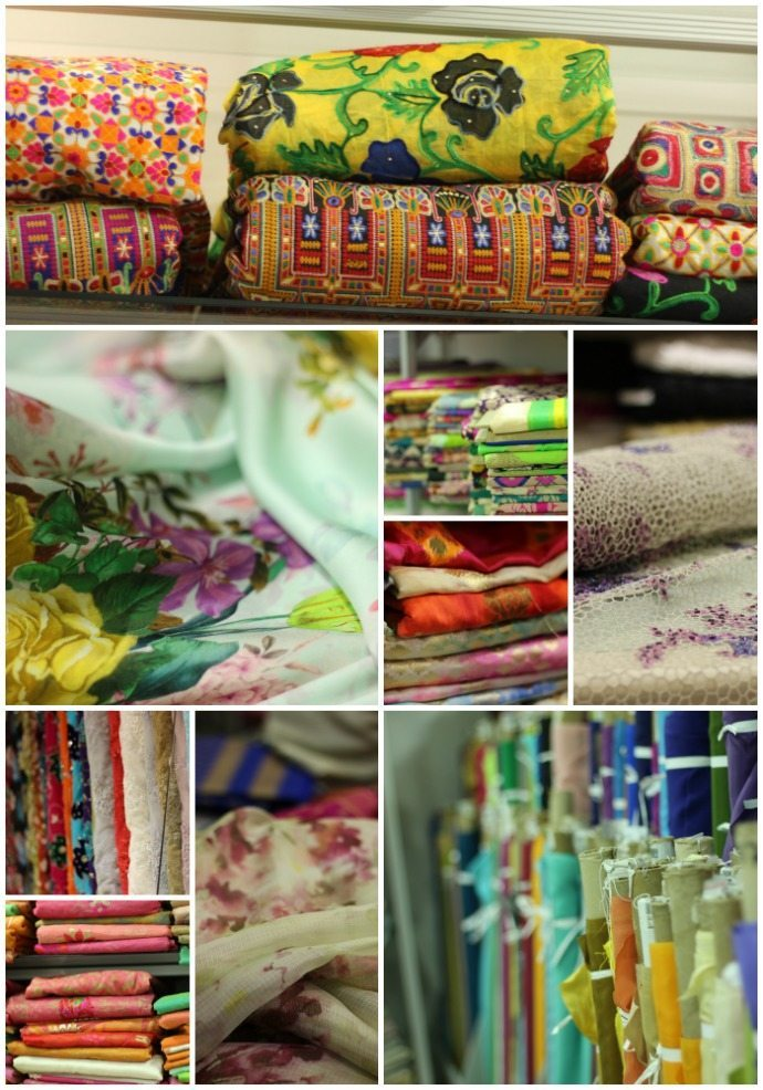 Meena bazaar fabric stores dubai
