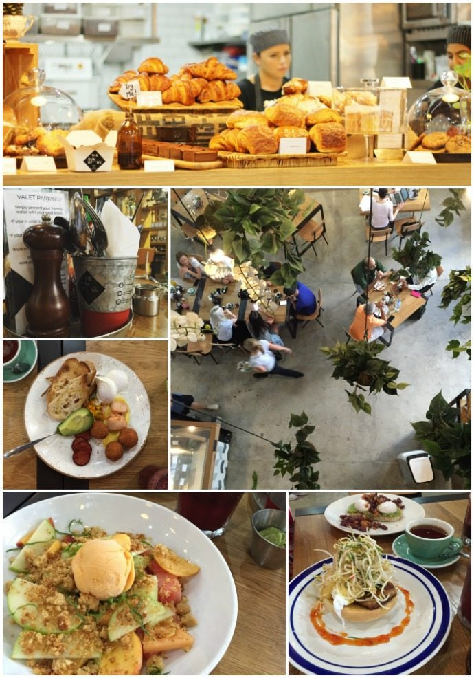 Where to eat in Dubai - breakfast or lunch at The Sum of Us