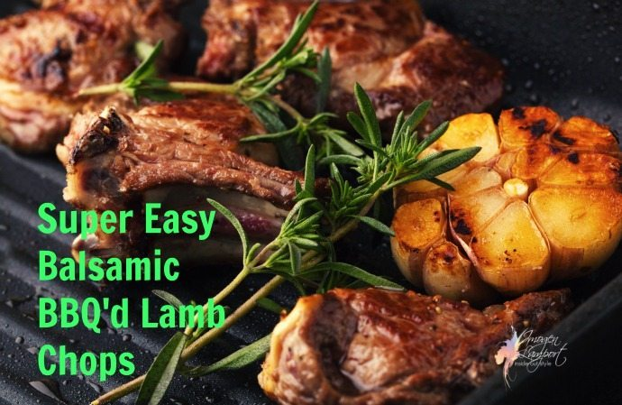uper Easy Balsamic BBQ lamb chops