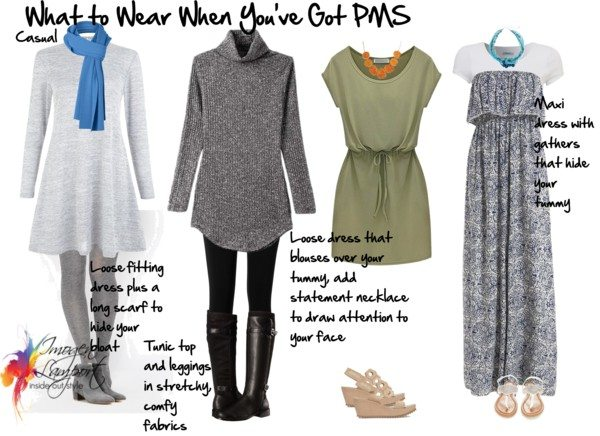 what to wear when you've got pms - casual