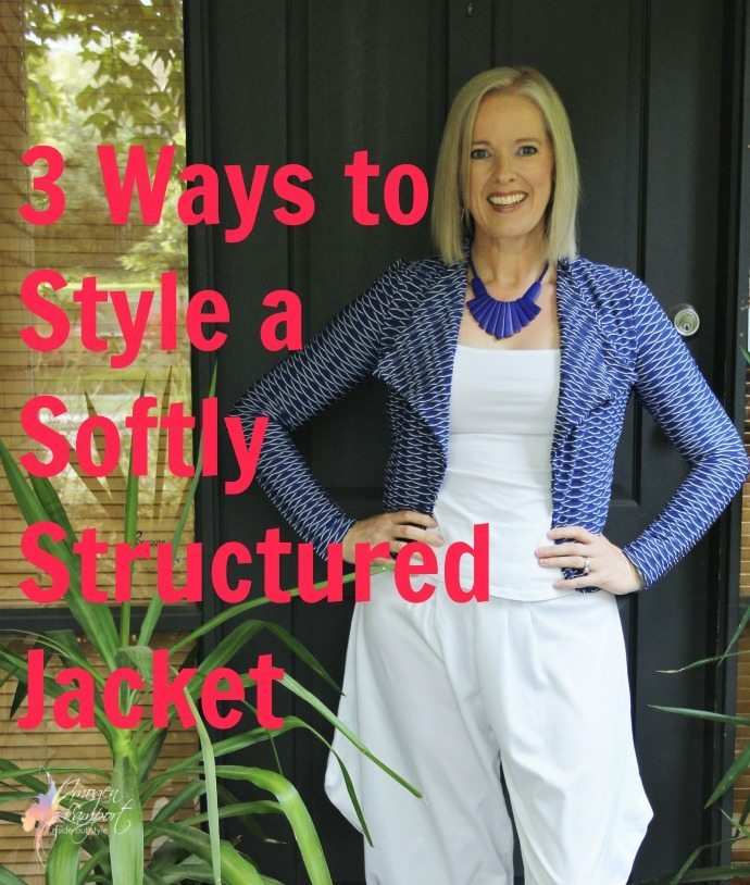 3 ways to style a softly structured jacket